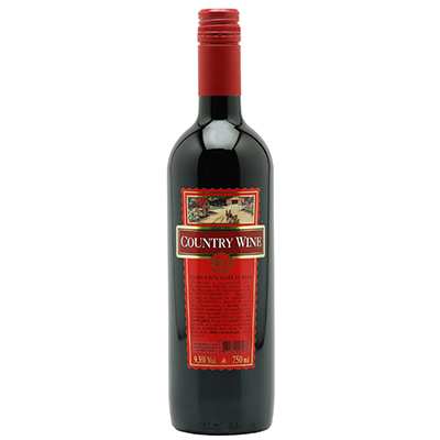 Vinho Tinto COUNTRY WINE Suave 750ml